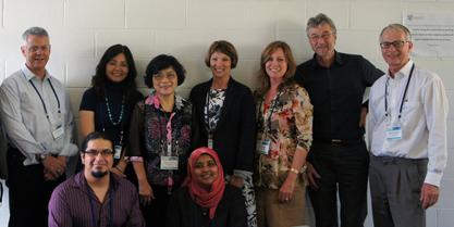 EQUALPRIME Team at AARE, Sydney, 2012